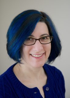 Lorrie Cranor has blue hair